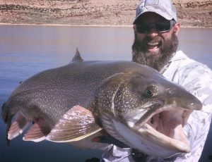 Colorado man catches record fish the size of a 7-year-old child