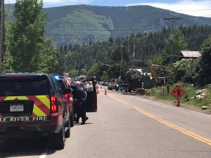Main Street in Minturn now open after early afternoon gas line rupture