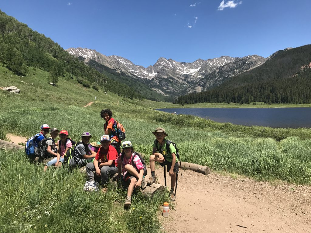 The goal of the Explorer Camps, which are also open to high school students, is to offer as many life-changing experiences in the outdoors as possible.