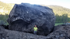 Colorado won't blow up massive boulder that destroyed highway. Here's why.