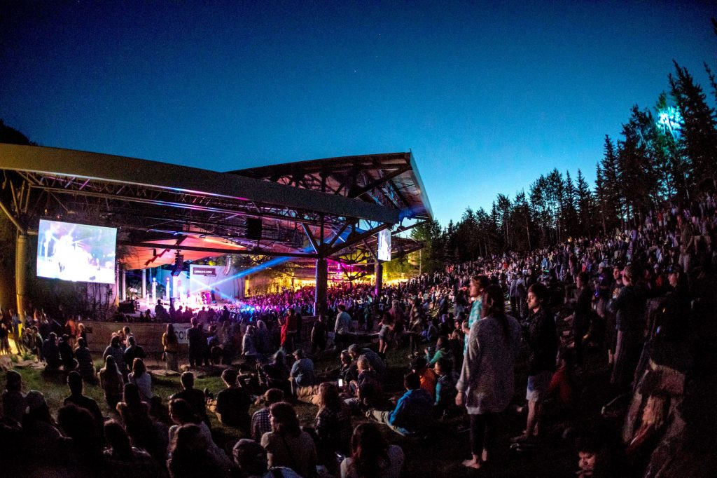 Live musical acts will be playing all throughout Lionshead and Vail Village during the day with headlining acts taking the stage at the Gerald R. Ford Amphitheater at night.