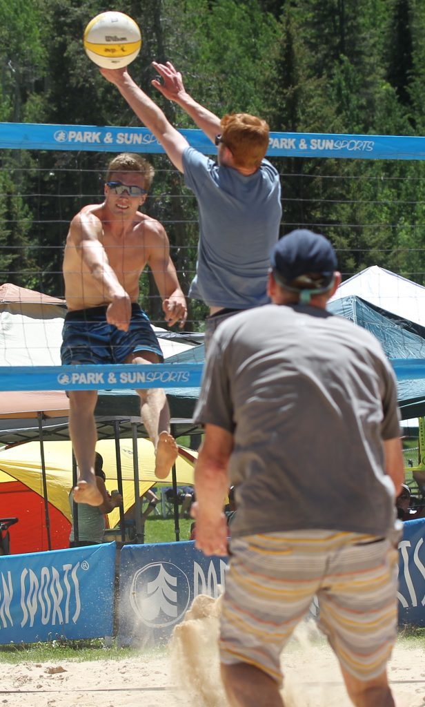 The King of the Mountain Volleyball Tournament has been a Father's Day tradition in Vail for 47 years.