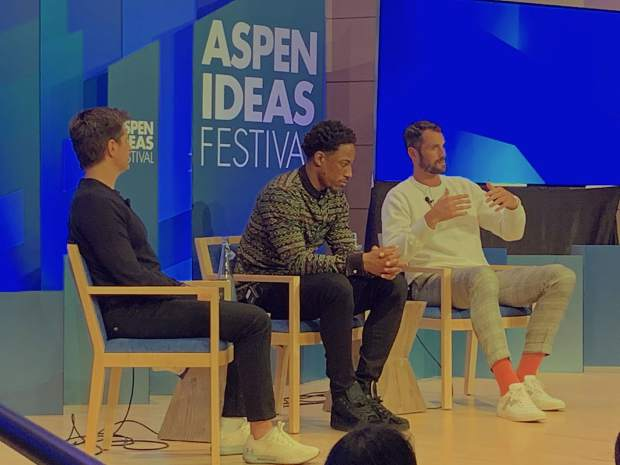 At Aspen Ideas Festival, NBA players talk about their struggles with depression