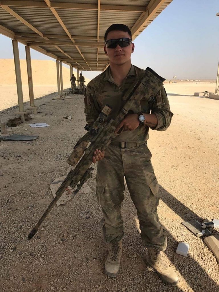 Sgt. Lane Dobransky serves in the 10th Mountain Division's 3rd Brigade Combat Team out of Ft. Polk Louisiana. He says he learned his first leadership lessons in Eagle County 4-H clubs.