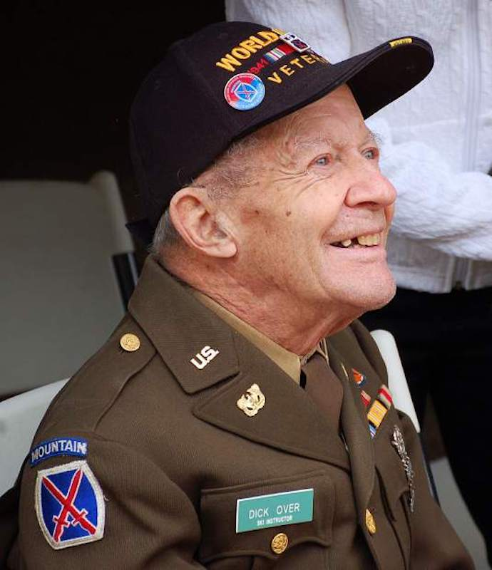 World War II 10th Mountain Division veteran Dick Over led last year's Vail July Fourth parade.