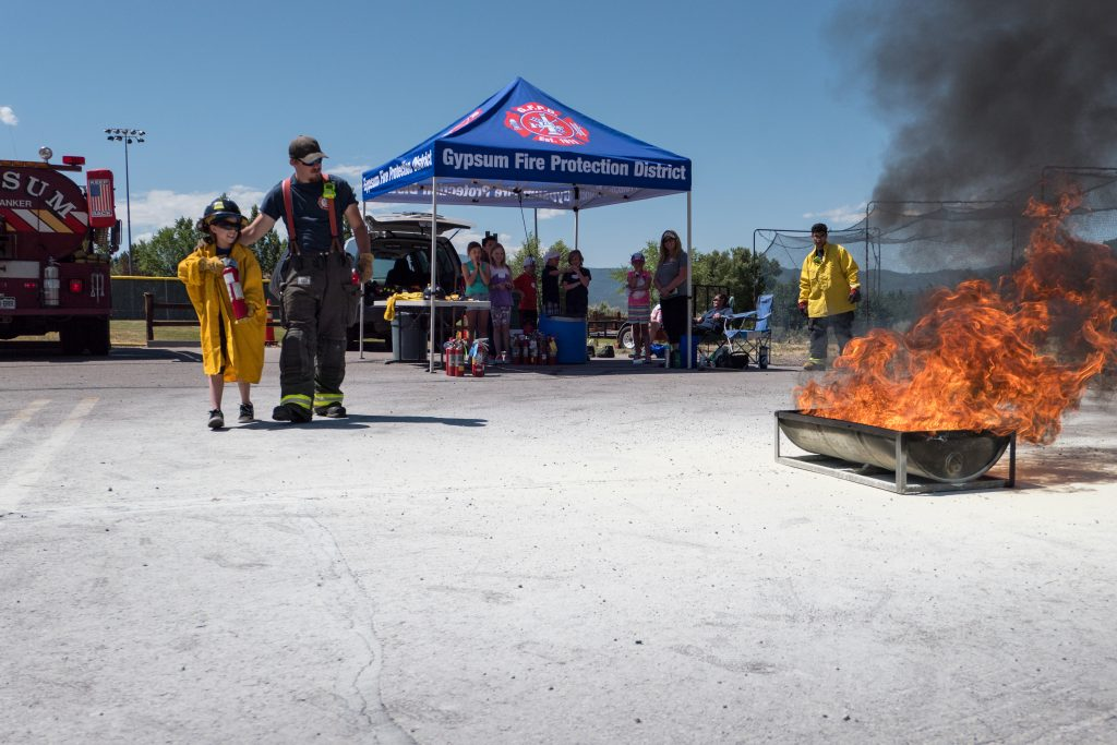 Camp 911 lets local kids put out fires while teaching safety and