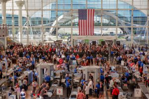 Denver International Airport  had its busiest day ever on Friday. Here's what it looked like.