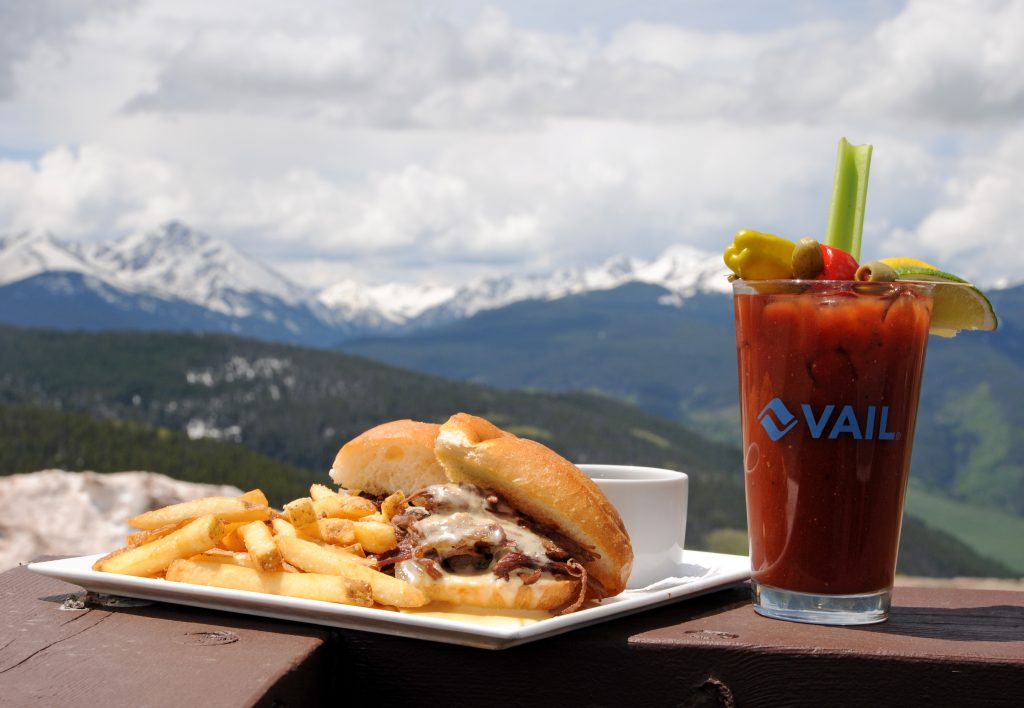 Bistro Fourteen offers Colorado cuisine with an amazing view