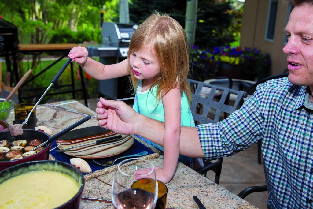 Fondue at Home offers a family friendly at-home catered dining experience perfect for the summer outdoors.