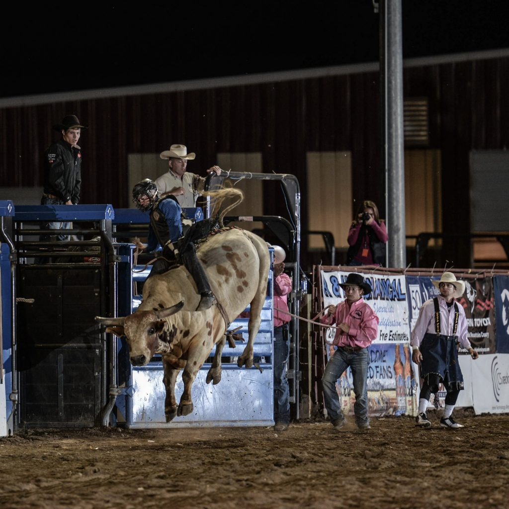 Bull riding is the highlight of any rodeo, and a record number of contestants have signed up to compete at this year's Eagle County Fair & Rodeo.