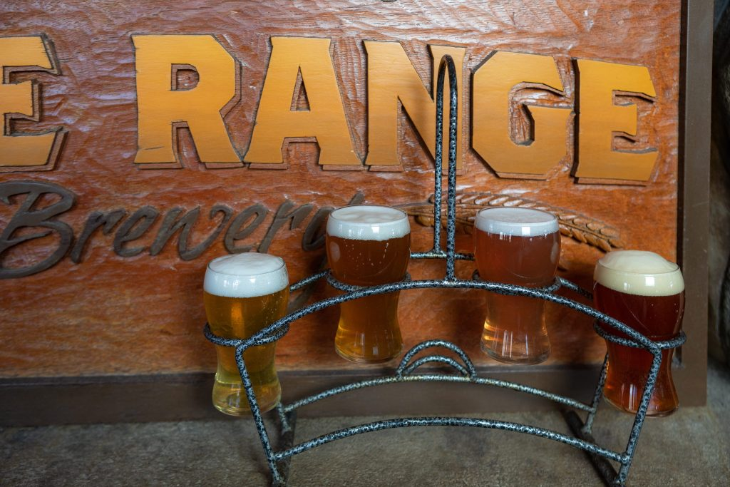 From left, Pascal's Pyrenees Pilsner, Vail Tail Pale Ale, French Rose Wheat, and the Irish (French-styled) Red Ale from the Gore Range Brewery in Edwards.