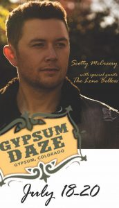 Small town venue, big time fun at Gypsum Daze: P.S. Scotty McCreery will be there