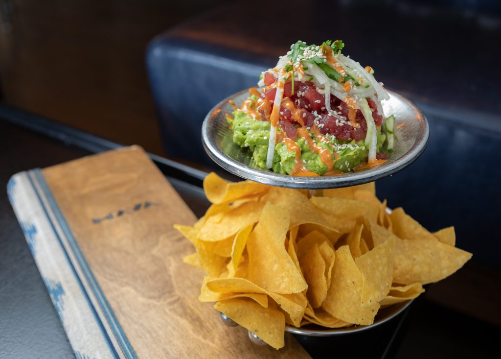 Classic Guacamole | served with warm chips from Maya in Avon.