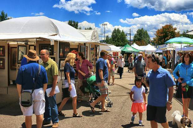 Art on the Rockies returns to Edwards this weekend for a three-day art show.