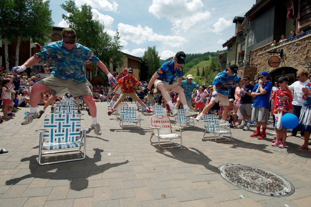 They started in 1984 to perform in Vail's July Fourth parade and have been amusing crowds ever since.