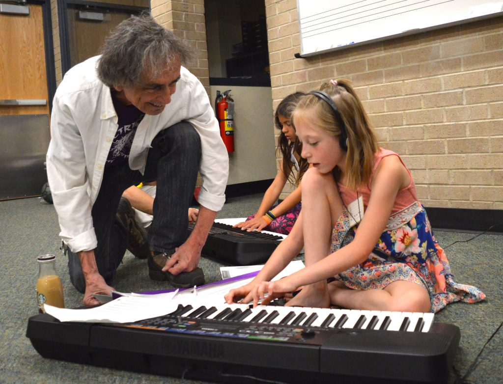 Jon Deak, former principal bassist with the New York Philharmonic, founded Very Young Composers more than 20 years ago. He brought it to Vail 13 years ago. The Very Young Composers host concerts Tuesday in the Avon library and Wednesday in the Vail library. Both begin at 1 p.m.