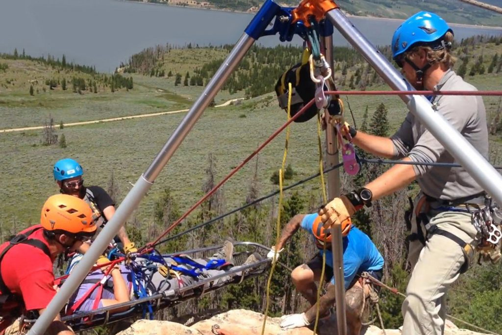 Colorado Mountain College's Summit County and Steamboat Springs campuses offer rope rescue technician certification as part of the college's wilderness emergency medical services training and certification programs. Students and outdoor professionals seeking recertification train alongside each other to gain the knowledge needed for mountain medical services and rescue.