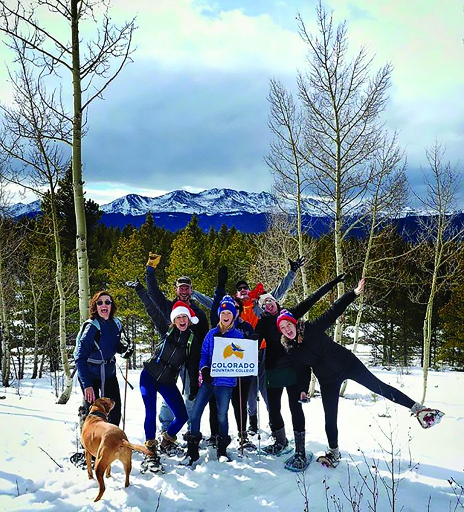 Colorado Mountain College's students, staff and faculty personify Colorado Mountain College's Top Adventure College spirit. Set in the midst of Rocky Mountain recreation, many of the college's programs prepare students for careers that celebrate an active outdoor lifestyle.