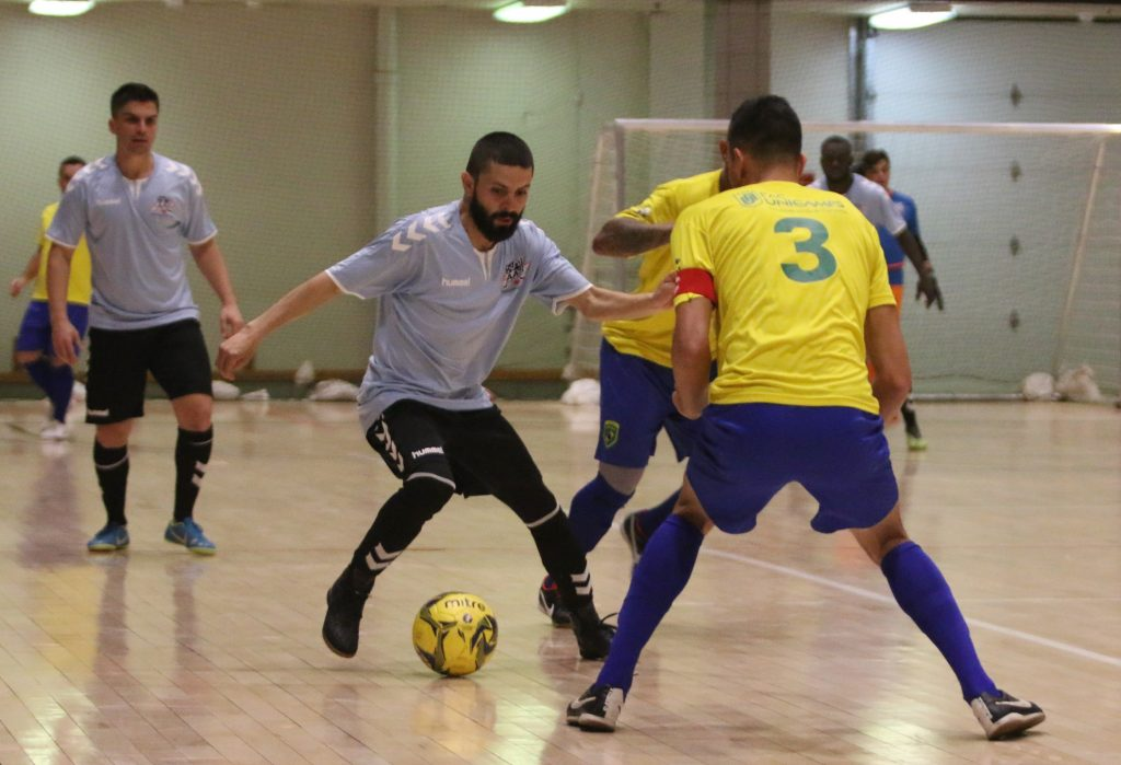 Local soccer legend Cesar Castillo made his international debut in April with Team USA against Brazil in an international arena soccer match.