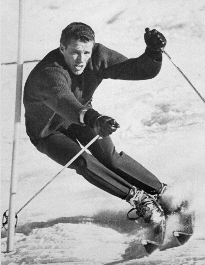 Pepi Gramshammer was a ski racing star before settling down in Vail as a resort ambassador and then a hotelier.