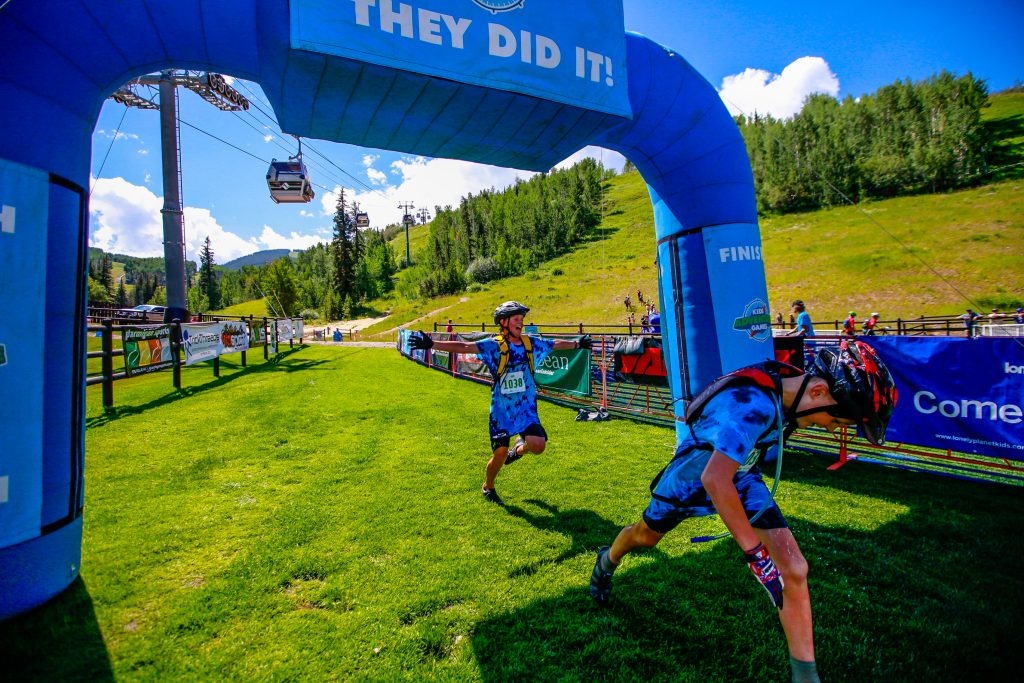 1,400 kids take on Adventure Games in Vail   VailDaily com