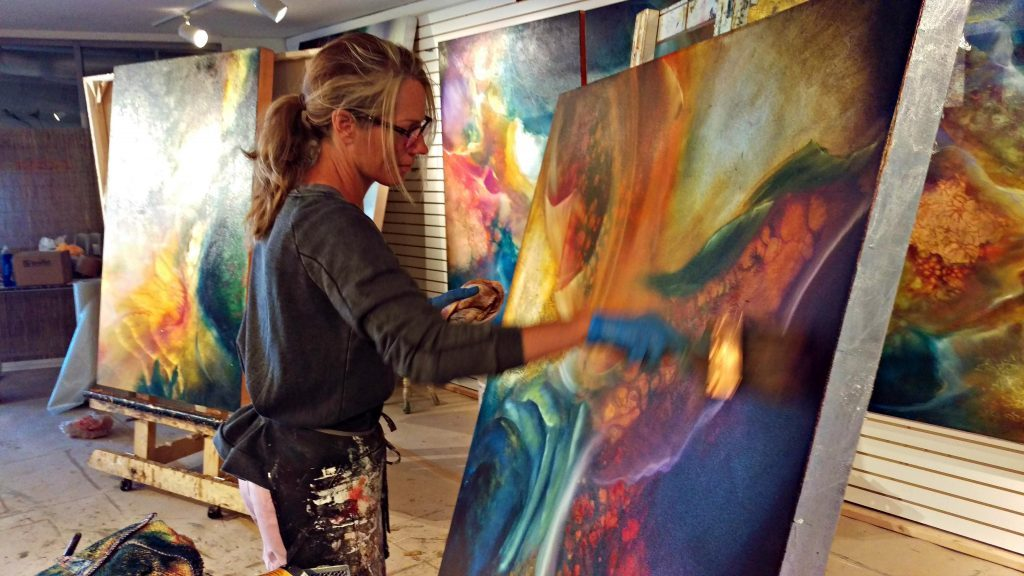 At the 32nd annual Beaver Creek Art Festival, artists will be on hand to show their work and maybe even share a few techniques on Saturday and Sunday.