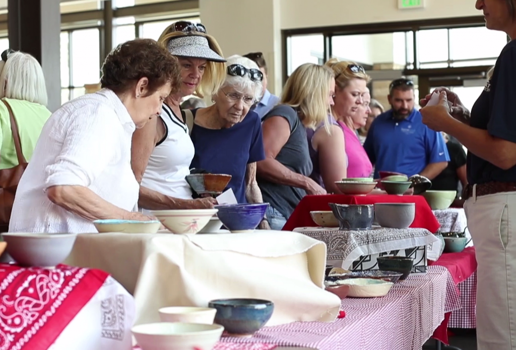 Empty Bowls, an annual fundraiser held Friday at the Battle Mountain High School from noon to 1:30 p.m., strives to fill the void on the food bank's shelves.