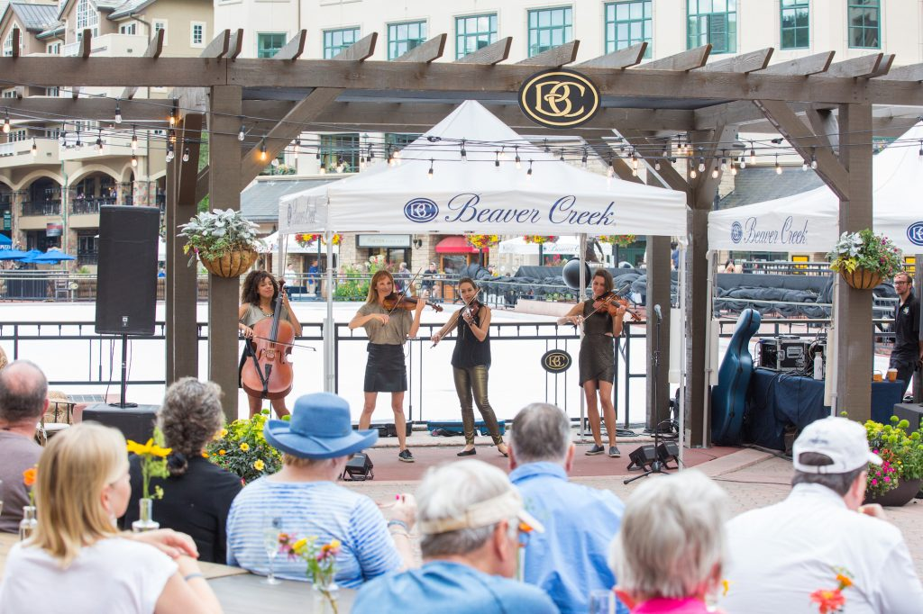 Drink, dine and gather is the theme behind Zusammen, an open-air shared dining and entertainment experience this Saturday in Beaver Creek.