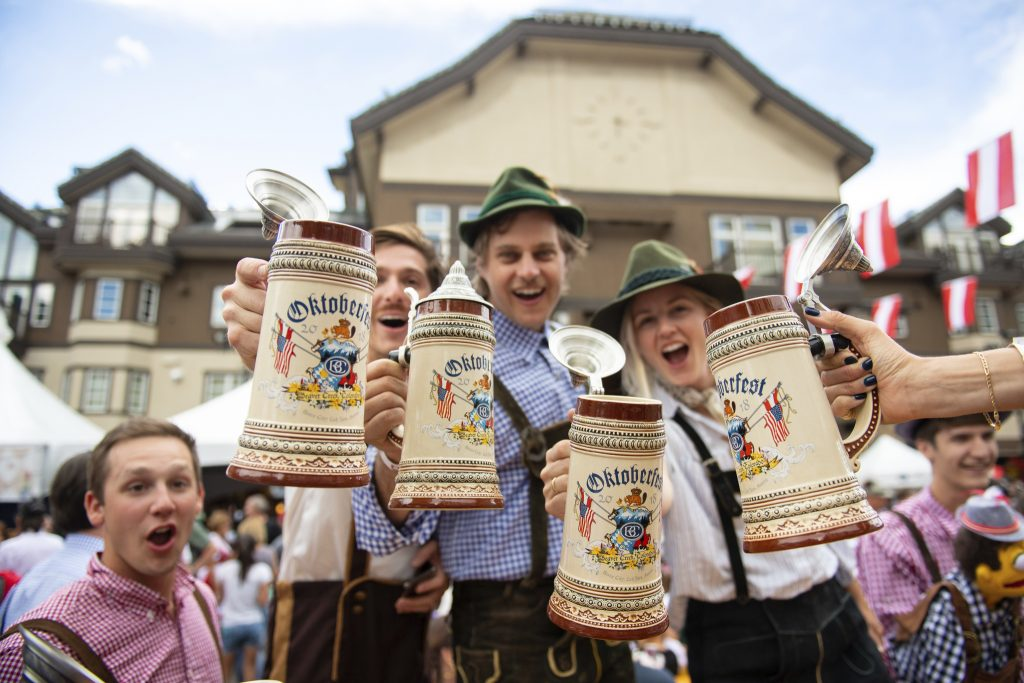 Get ready to celebrate the 20 anniversary of Oktoberfest in Beaver Creek with traditional Bavarian music, food and contests this weekend.