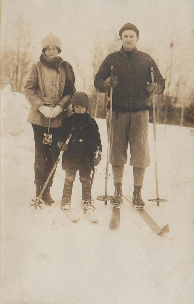 Sandy Treat was 6 year old when his parents taught him to ski at Lake Placid.