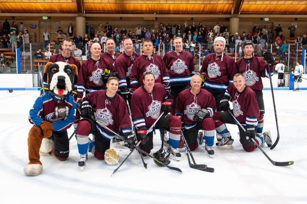 Colorado Avalanche alumni head to Vail this weekend for meet and greets, a casino night, skills clinics and a hockey game against local team, Vail Yeti to raise money for youth hockey.