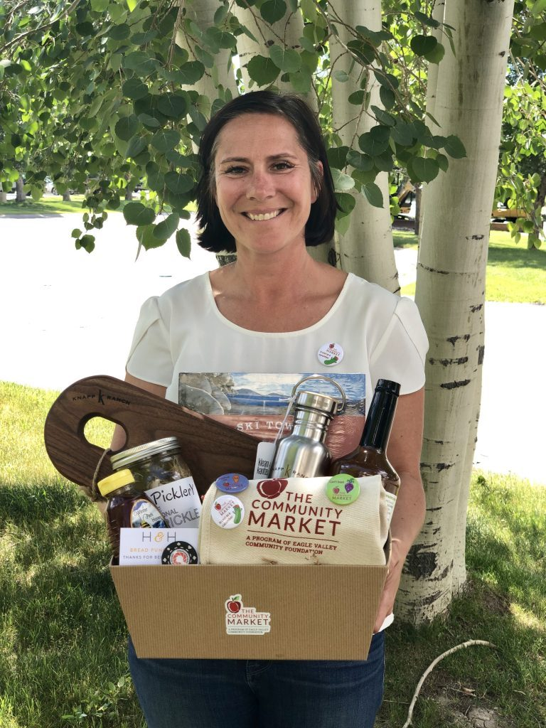 Local chef Kelly Liken serves as the food systems director for The Community Market and has been focused on creating a space where anyone needing fresh produce, dairy, bread and healthy recipes feels welcome.