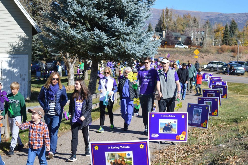 Join in the Walk to End Alzheimer's on Saturday at the Brush Creek Park and Pavilion in Eagle. Registration begins at 8:30 a.m. followed by a program at 9:30 a.m. and the walk at 10 a.m.