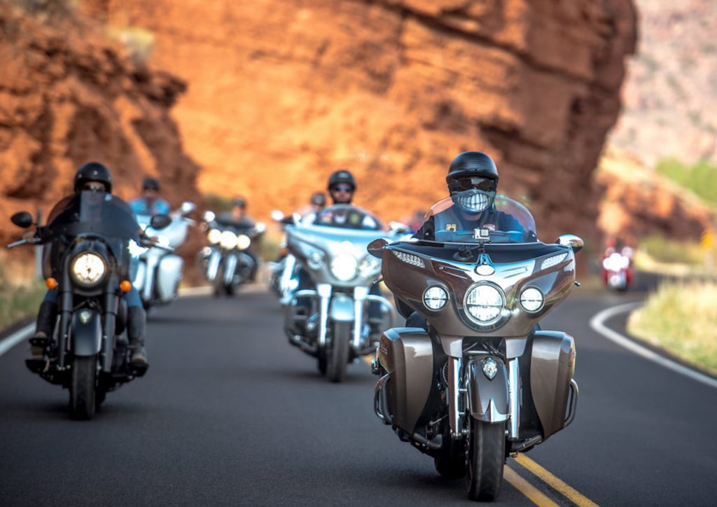 The Veterans Charity Ride rolls 1,600 miles from Salt Lake City, Utah, through some of the West's most iconic backroads. This is the fifth year for the ride. It stopped in Eagle and at the top of Tennessee Pass at the 10th Mountain Division Memorial on their way to the Sturgis Bike Rally.