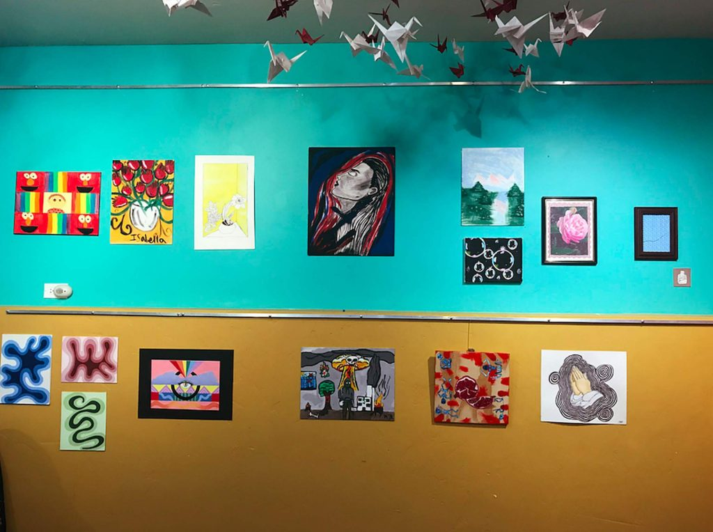 The exhibition will be up in the Minturn VVAG gallery space throughout the month of November.