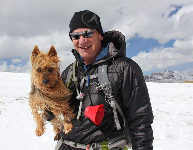 Crandall said that the adventure of climbing mountains would not have happened without Emme.