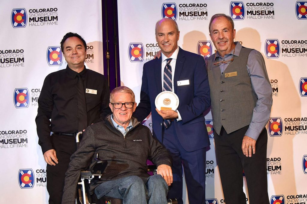 Steve Raymond is the co-founder of the Adaptive Spirit program and organization to benefit the U.S. Paralympic Ski Team and was inducted into the Hall of Fame this year.