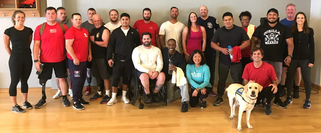 This is the first Vail Veterans Program to do the Johnson & Johnson Human Performance Institute in Vail. The groups usually travel to Orlando, Florida.