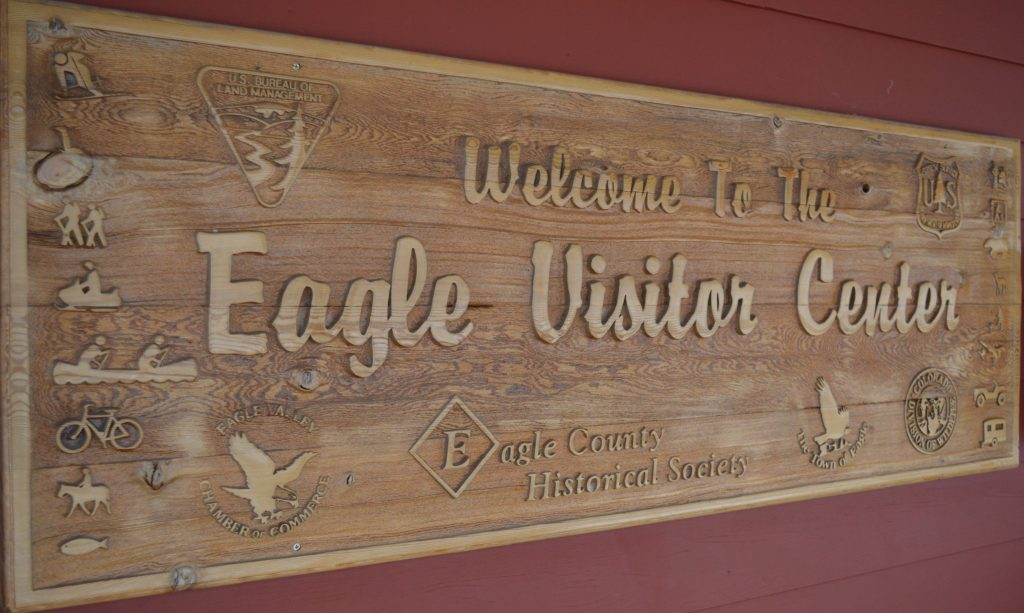 Eagle's visitors and information center opened in 1991, a partnership of several agencies and governments. All the other partners fell away, leaving to pick up the entire tab.
