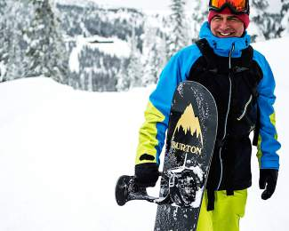 Jake Burton was a pioneer for the sport of snowboarding, from his participation at the