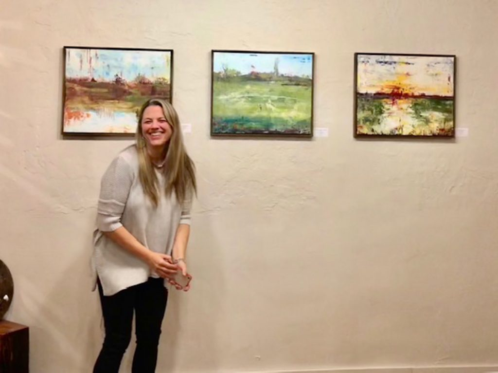 Tara Novak of Artspace workshop+gallery collaborated with the Vail Valley Art Guild and Red Canyon Cafe to host the first Eagle 2nd Friday Artwalks last November. The event has grown into an event that encompasses more than art.