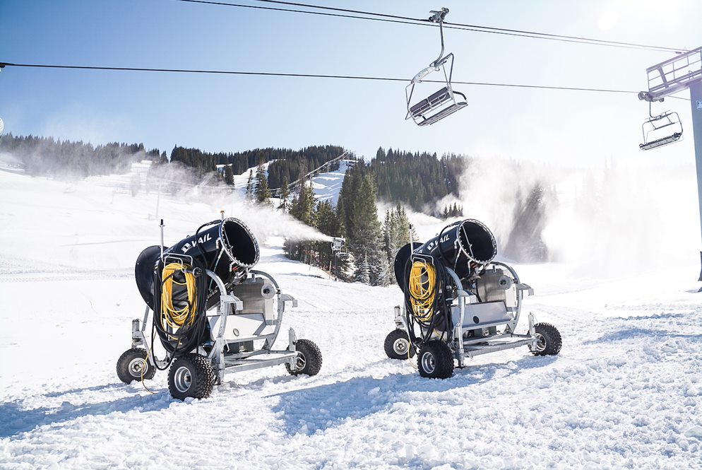 This year's opening day will unveil Vail Mountain's entirely new and enhanced early-season ski experience. This summer's massive snowmaking expansion project is the largest in Vail Mountain's history and the largest one-year snowmaking expansion in North America.