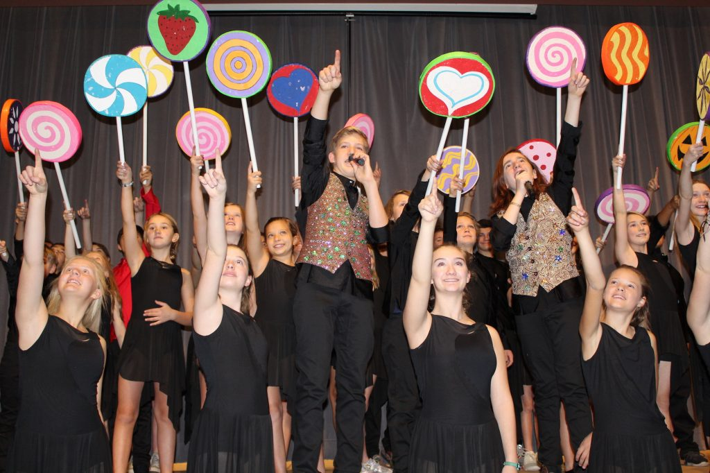 "Members of the Vail Performing Arts Academy sing ""Pure Imagination"" from ""Willy Wonka and the Chocolate Factory."" Expect to hear that song and many other hits from Broadway when the students perform ""Broadway Stars"" this Saturday and Sunday at the Vilar Performing Arts Center."