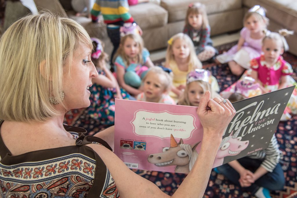 """Storytime is popular at the Bookworm. On Saturday, storytime will go beyond the story, there will be a costume contest and prizes prior to the """"Frozen II"""" matinee at Riverwalk Theater later that day."""