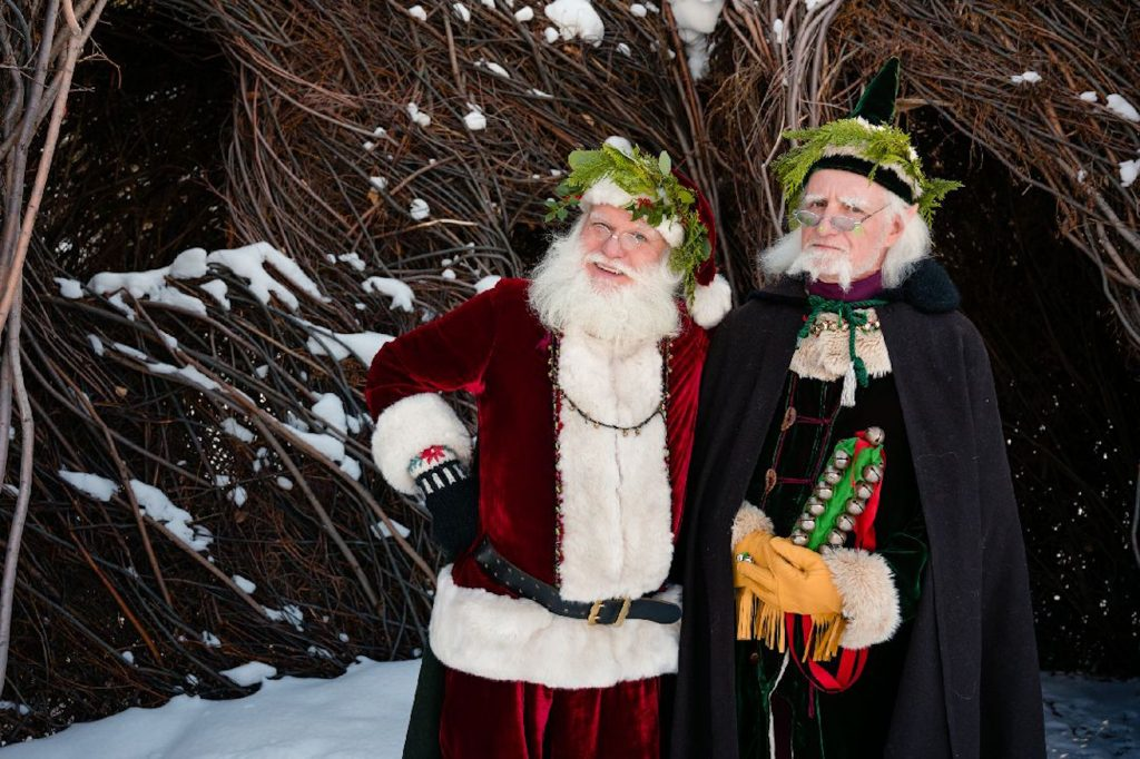 Santa and Ralph, The World's Tallest Elf, will be at the pancake breakfast in Gypsum.