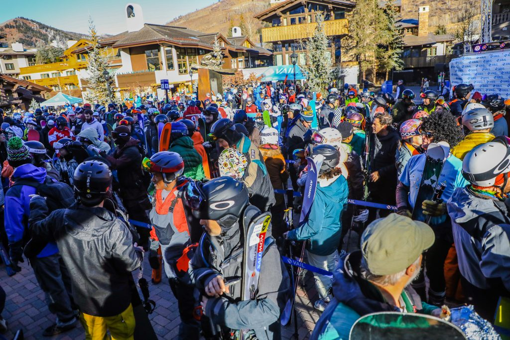 People anxiously await the opening of Vail Friday in Vail Village. Vail Health's recent Community Health Needs Assessment for Eagle County shows that, overall, residents have fewer risk factors for disease and experience fewer chronic diseases and life expectancy is higher than the state average.