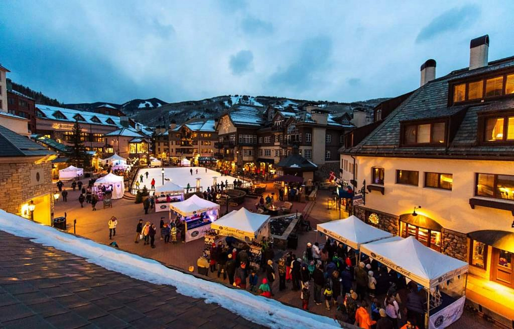 Several events are free to attend, and guests pay for food as they go at various tents around Beaver Creek Village.