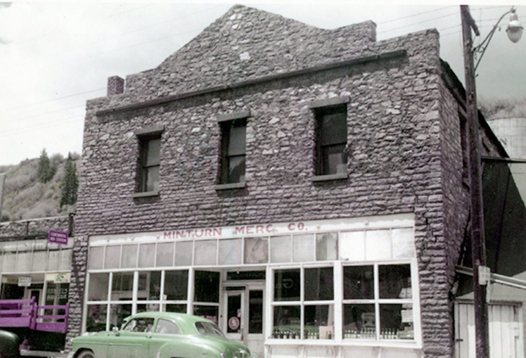 The Minturn Mercantile opened in 1891.