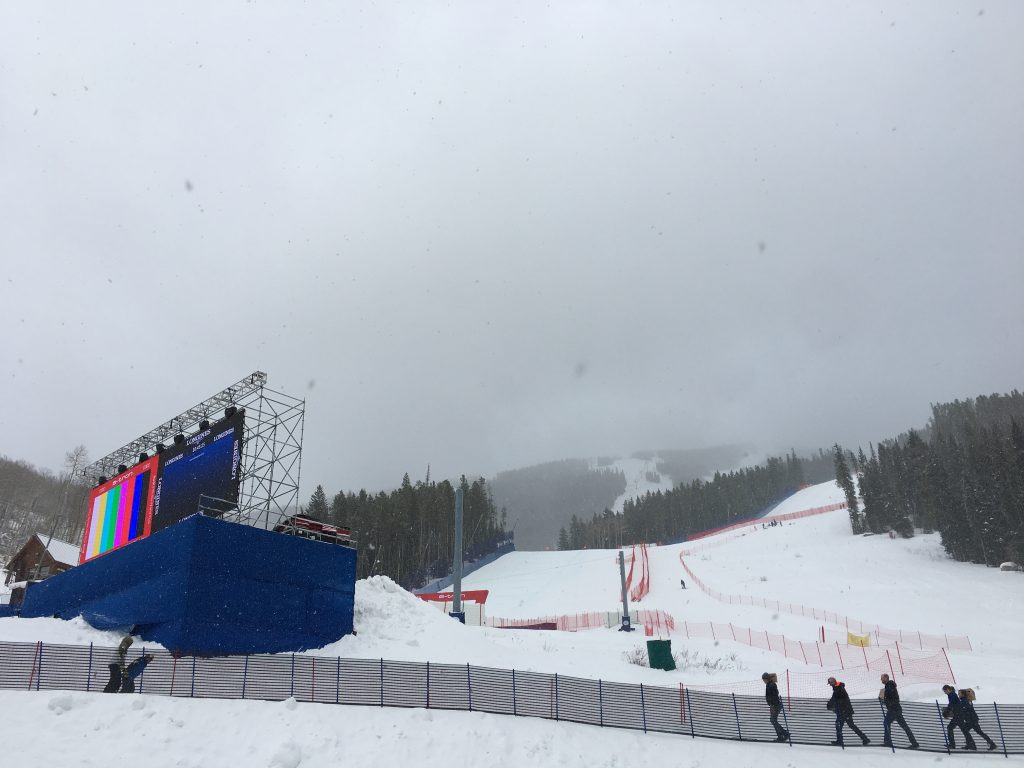 Snow Cancels Birds Of Prey Downhill Training On Thursday At Beaver Creek Vaildaily Com
