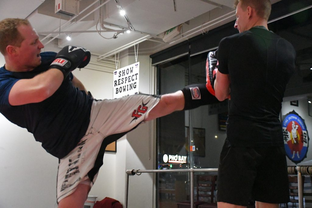 Kickboxing is outstanding physical and mental conditioning.